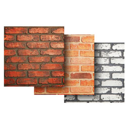 SAMPLE-PN016 Brick Panels