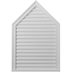 Peaked Urethane Gable Vent Louver