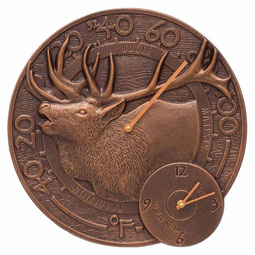 WH-ELK-CLKTH Outdoor Clocks