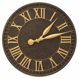 WH-GENEV-CLK Outdoor Clocks