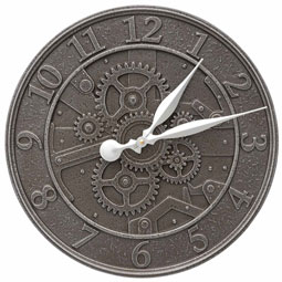 WH-GEAR16-CLK Outdoor Clocks