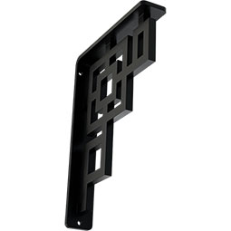 Eris Wrought Iron Bracket