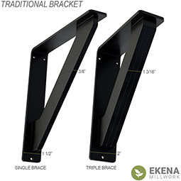 Traditional Wrought Iron Bracket