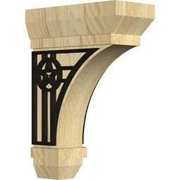BKTSTAU Wood Brackets w/ Ironcraft Inlays