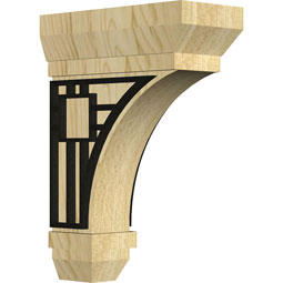BKTSTBR Wood Brackets w/ Ironcraft Inlays