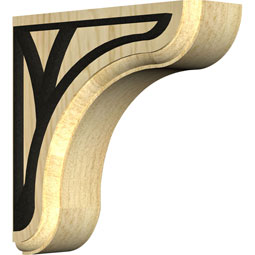 BKTWEACE Wood Brackets w/ Ironcraft Inlays