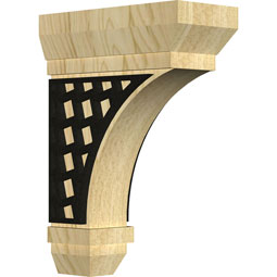 Stockport Bracket w/ IronCraft Mosaic Inlay