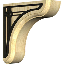 BKTWEAOS Wood Brackets w/ Ironcraft Inlays