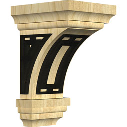 CORWJETR Wood Brackets w/ Ironcraft Inlays