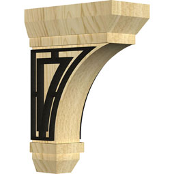 BKTSTTR Wood Brackets w/ Ironcraft Inlays