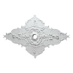 CM67WT Oval Ceiling Medallions