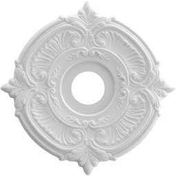 Attica Thermoformed PVC Ceiling Medallion