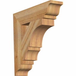 BKTBOA01 Rustic Wood Brackets