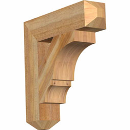 Balboa Craftsman Rustic Timber Wood Bracket