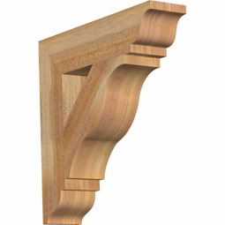 Funston Traditional Rustic Timber Wood Bracket