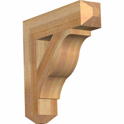 Funston Craftsman Rustic Timber Wood Bracket