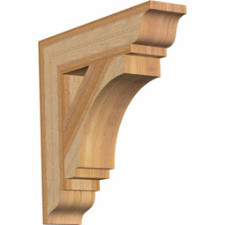 Imperial Traditional Rustic Timber Wood Bracket
