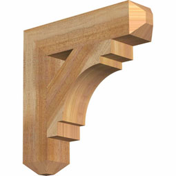 BKTMRC04 Rustic Wood Brackets