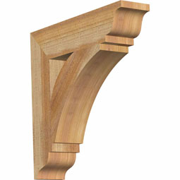 Thorton Traditional Rustic Timber Wood Bracket