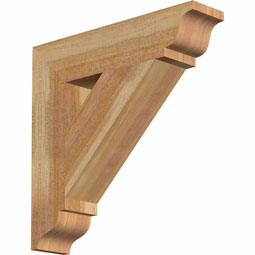 BKTTRA01 Rustic Wood Brackets