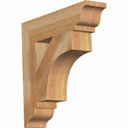 westlake Traditional Rustic Timber Wood Bracket