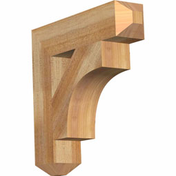 westlake Craftsman Rustic Timber Wood Bracket