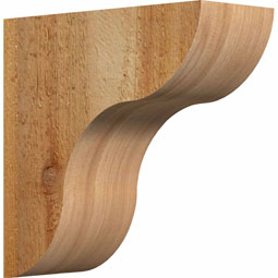 Carmel Rustic Timber Wood Corbel