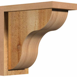 CORCAR01 Rough Sawn Corbels