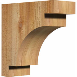 Mediterranean Rustic Timber Wood Corbel