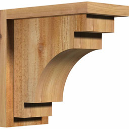 CORMED01 Rustic Wood Corbels