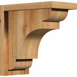 CORNEB01 Rough Sawn Corbels