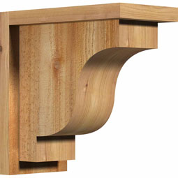 CORNEW01 Rough Sawn Corbels