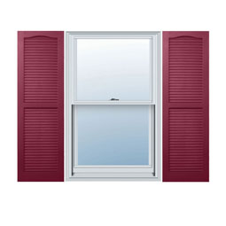 Berry Red / Wineberry Exterior Vinyl Shutters