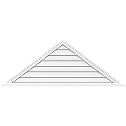 Triangle Surface Mount PVC Gable Vent Brickmould Sill Frame