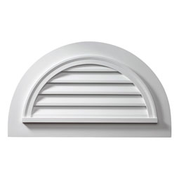 HRLVF Fypon Half Round Gable Vents