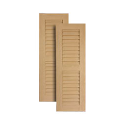 LVSHS Rough Sawn Shutters