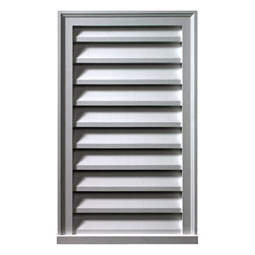 LVV Fypon Vertical Gable Vents
