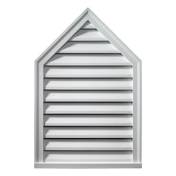PLV Decorative Gable Vents