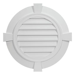 RLVFTK Fypon Round Gable Vents