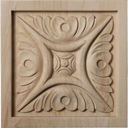 ROSWMD Wood Rosettes