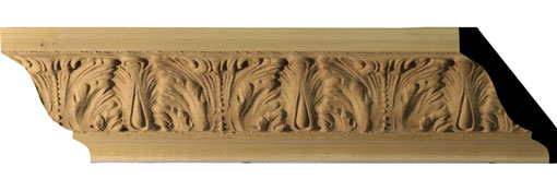 MLDC03X03X96AC Crown Moulding, Cove Moulding