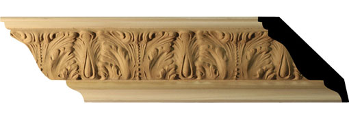 MLDC04X03X96AC Crown Moulding, Cove Moulding