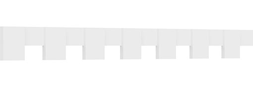 Monroe Architectural Grade PVC Dentil Block Trim