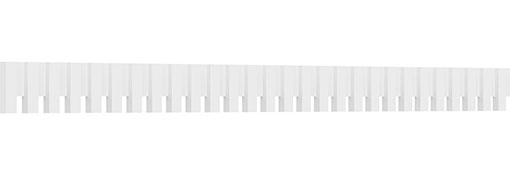 Sanford Architectural Grade PVC Dentil Block Trim