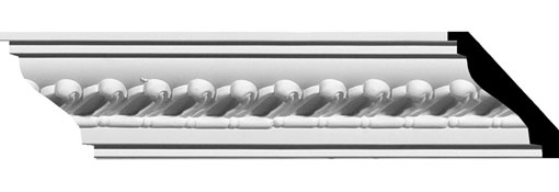 MLD02X02X03BA Crown Moulding, Cove Moulding
