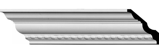 MLD02X02X04CR Crown Molding, Cove Molding