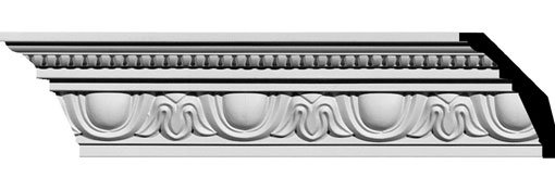 MLD04X03X05ED Ornate Crown Moulding