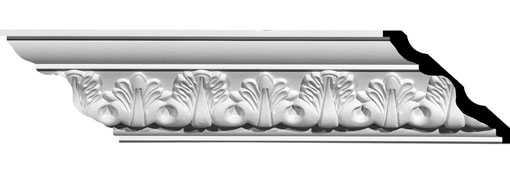 MLD03X03X04LE Crown Moulding, Cove Moulding