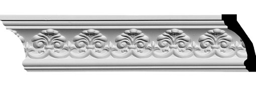 MLD03X02X04HA Crown Moulding, Cove Moulding