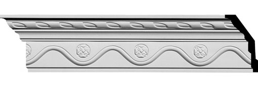 MLD03X02X04AL Crown Moulding, Cove Moulding